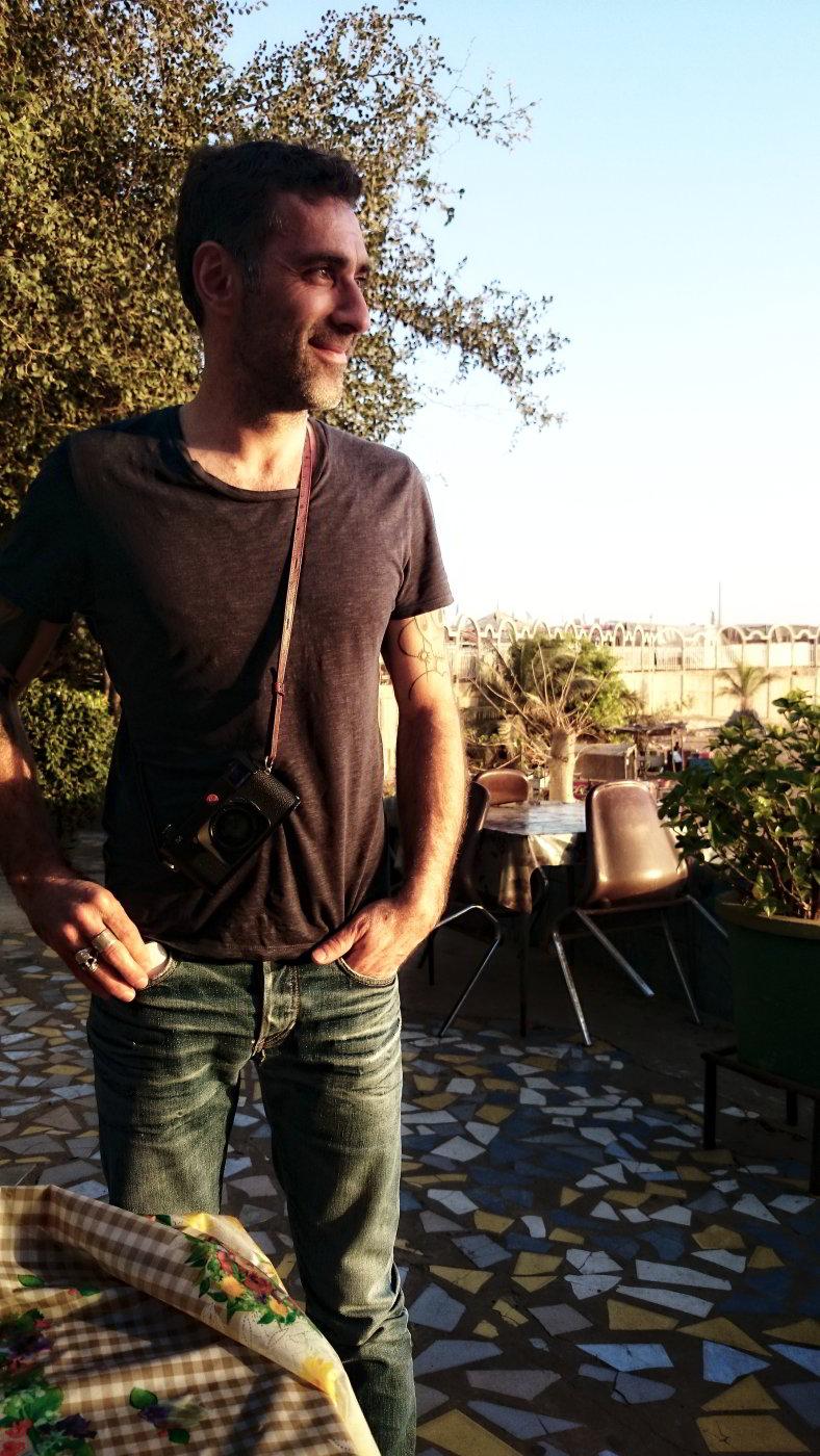 Ulrich Lebeuf, jour 01 Dakar
